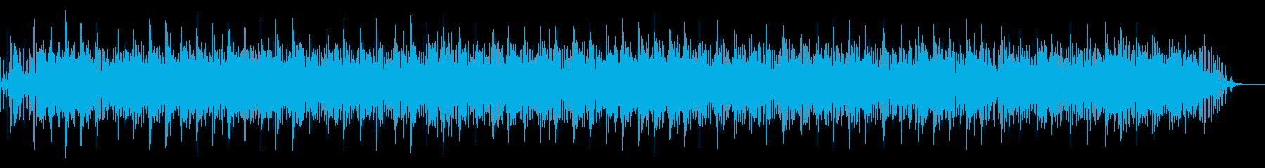 [生録音]魚釣り、リールを巻く01の再生済みの波形