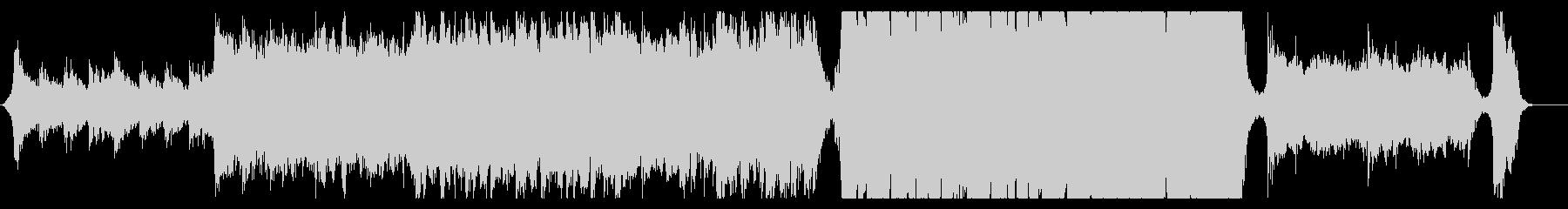 ハリウッド映画風の壮大なオーケストラ8Dの未再生の波形
