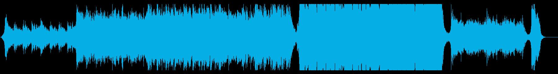 ハリウッド映画風の壮大なオーケストラ8Dの再生済みの波形