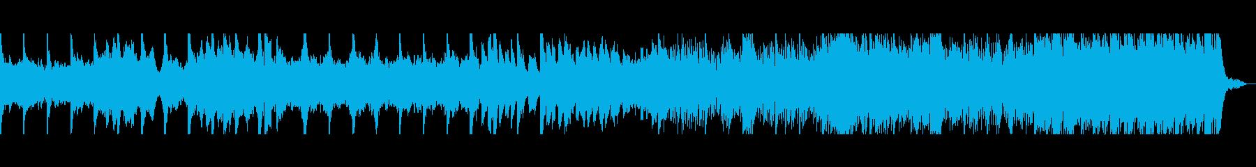 静かに薄闇に佇む脈動~神秘的なピアノ旋律の再生済みの波形