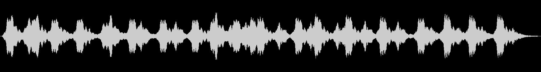 アナログパッド音で綴ったアンビエント音楽の未再生の波形