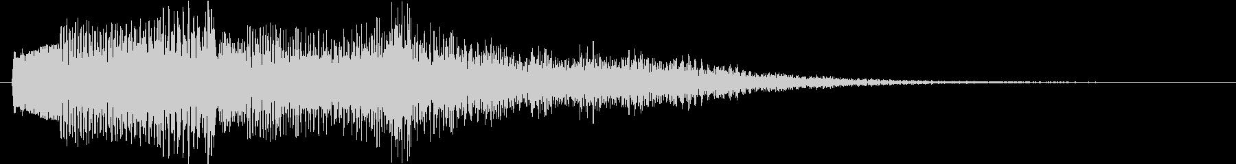 多用途ジングル-1の未再生の波形
