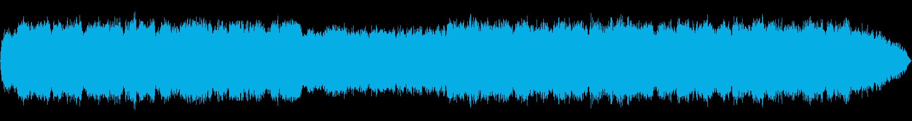静かで幻想的なケーナの即興音楽の再生済みの波形