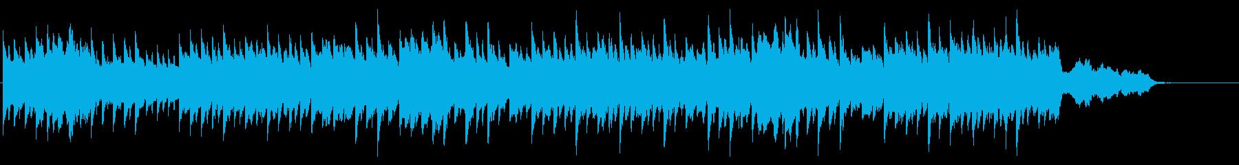 じんわりとした感動/ピアノとストリングスの再生済みの波形
