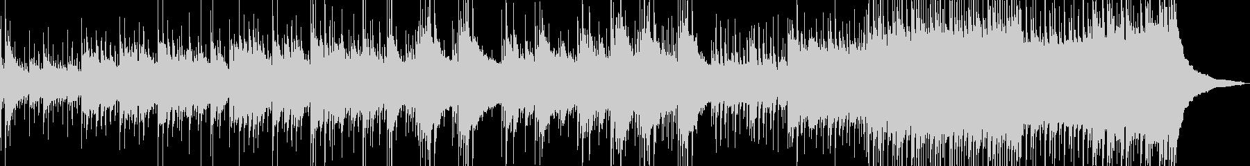 ドラムが落ち着くアコースティック音楽の未再生の波形