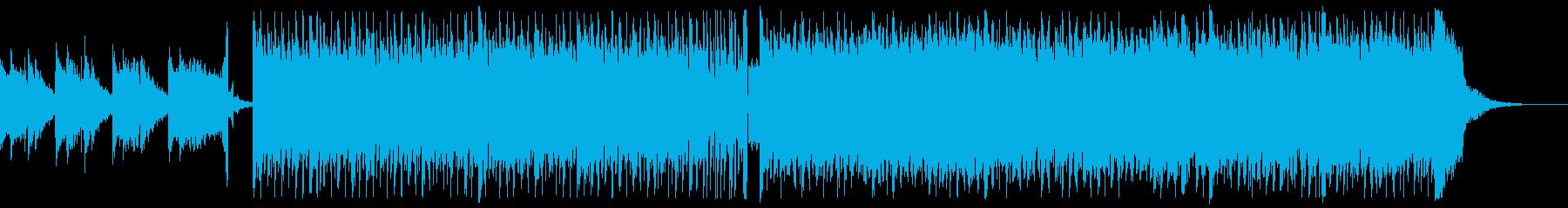 どんどん新しい世界を発見するイメージの曲の再生済みの波形