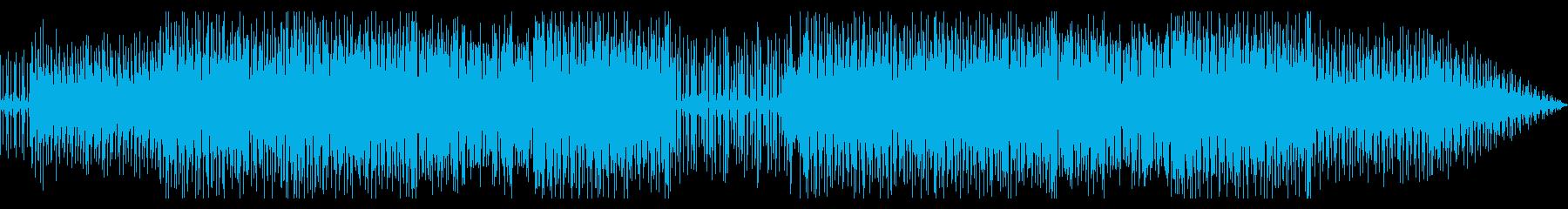 朗らかな気分になるインスト曲の再生済みの波形