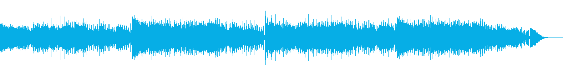 デジタルでダーティなアンビエントIDMの再生済みの波形