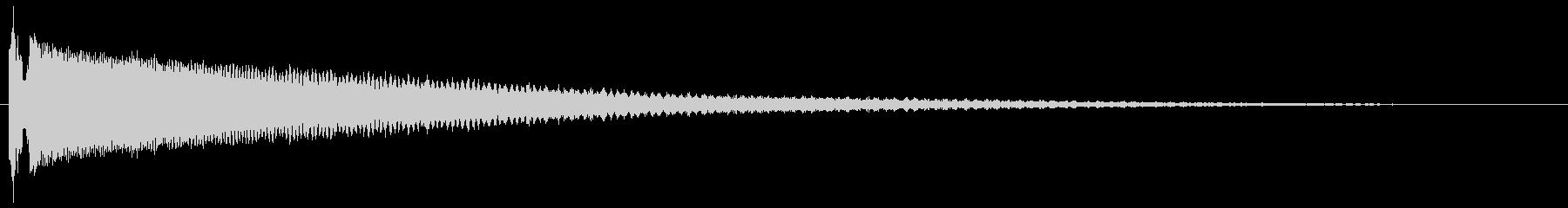 フュイ〜ピロロロロンの未再生の波形