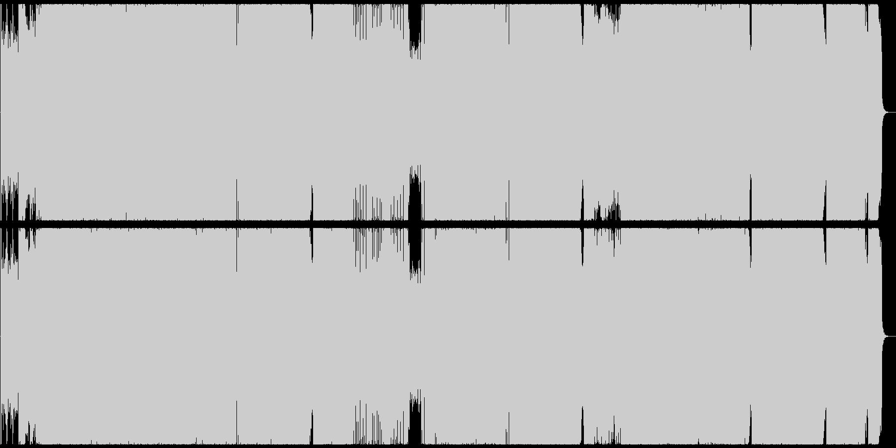 変拍子+疾走系+ハードロックインストの未再生の波形