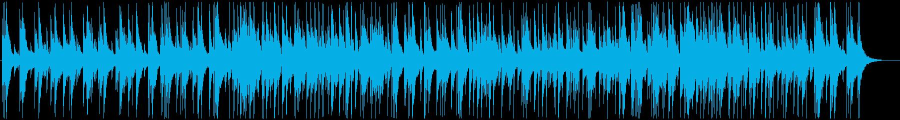リラックスピアノスムースジャズ♫の再生済みの波形