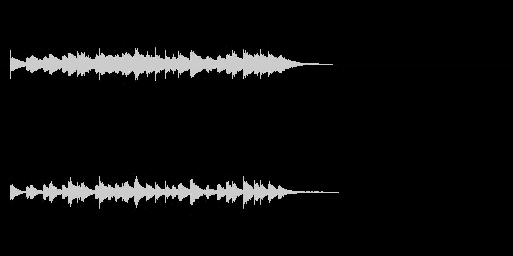 マジカルチャイムの未再生の波形