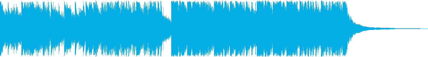 ドラマやストーリー向けPR音楽の再生済みの波形