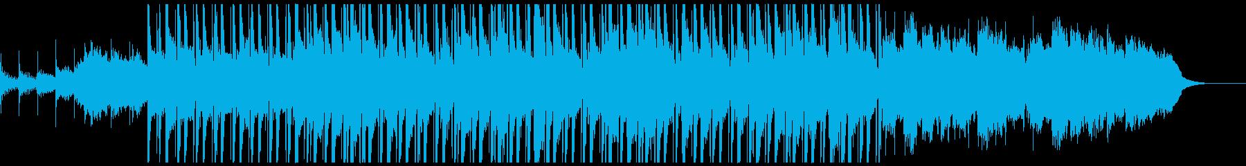 静かな夜のティータイムのlo-fiの再生済みの波形