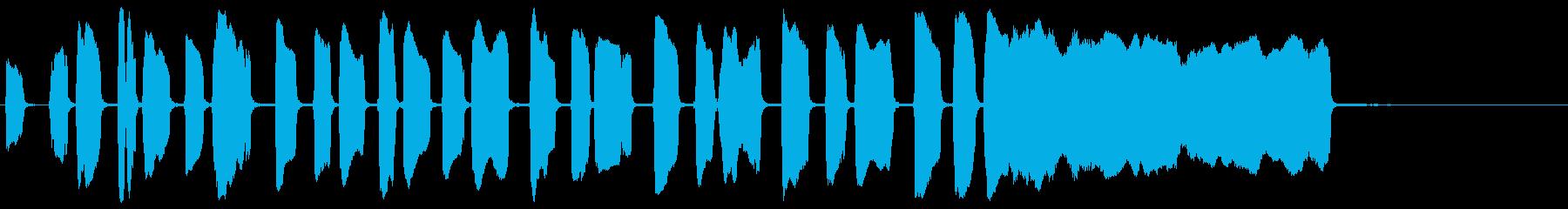 トランペット:コミカルスクワッキー...の再生済みの波形