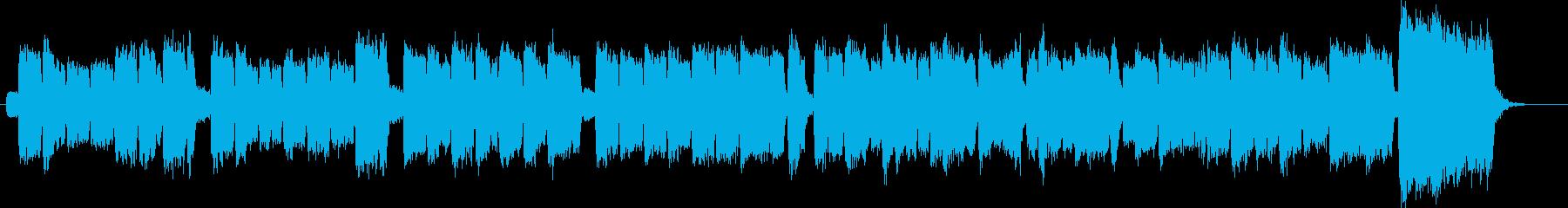荘厳で温かみあるチャーチオルガン主体の曲の再生済みの波形