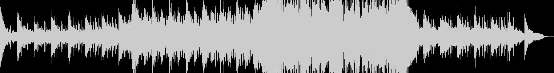 かっこいい系のエレクトロニカの未再生の波形
