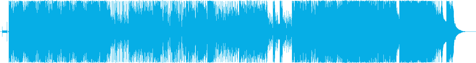 無農薬ファンクの再生済みの波形