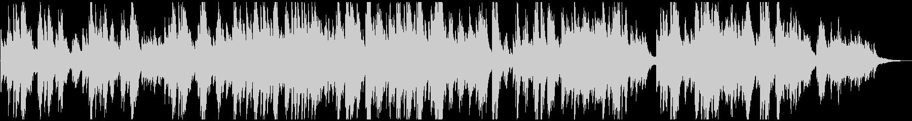 メロディアス 優しくおしゃれなピアノソロの未再生の波形