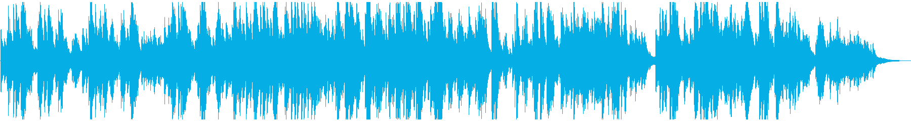 メロディアス 優しくおしゃれなピアノソロの再生済みの波形