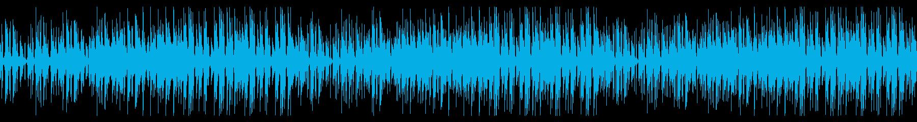 【ループ版】YouTube 鉄琴・日常の再生済みの波形