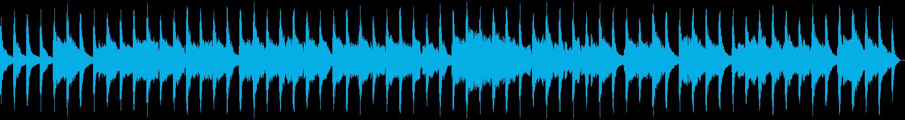 尺八とピアノによる和風インストの再生済みの波形