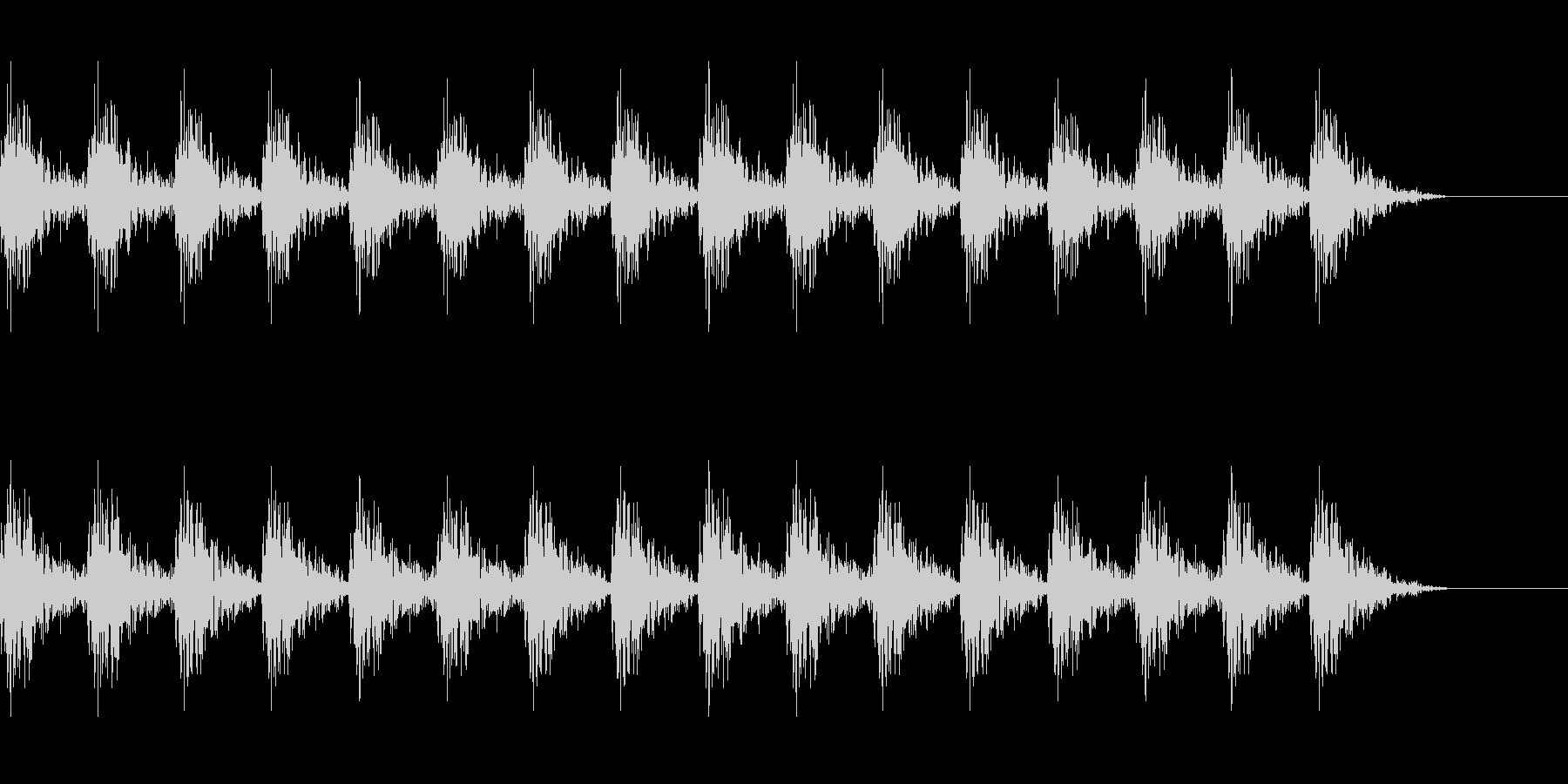 どんどん(巨人、速歩き)A09の未再生の波形