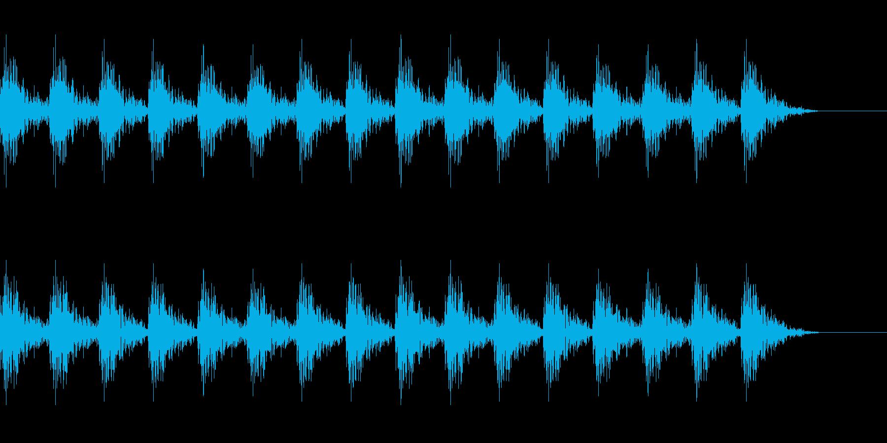 どんどん(巨人、速歩き)A09の再生済みの波形