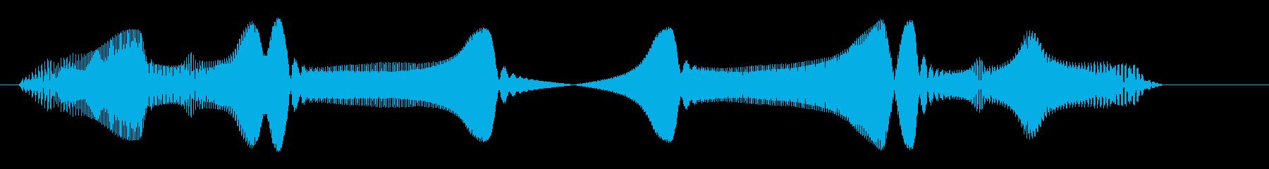 キラリーン(ピンチの時に突然現れる人物)の再生済みの波形
