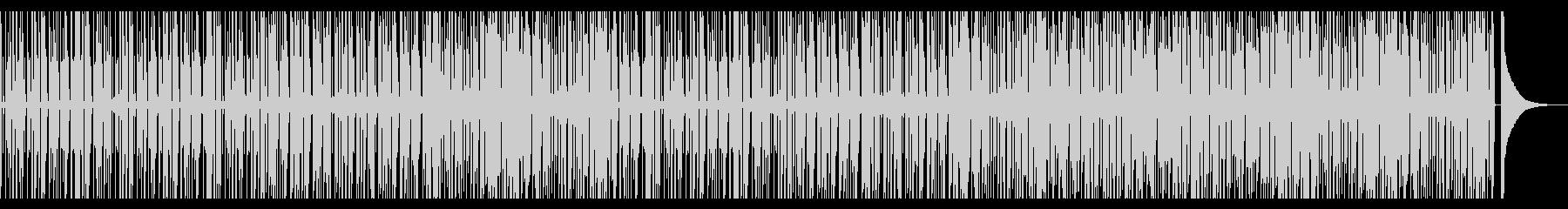 スローテンポのソウルポップ風BGMの未再生の波形