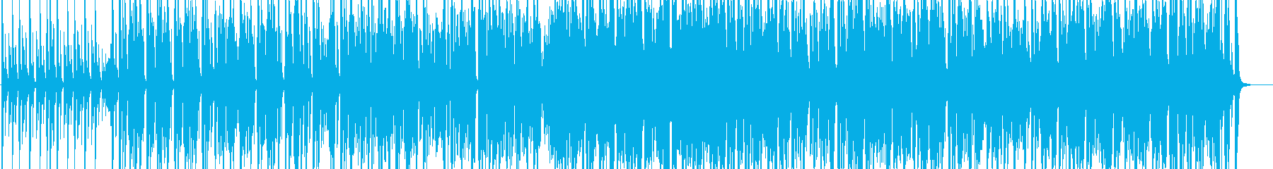 ジャジーなベースとストリングスの大人な曲の再生済みの波形