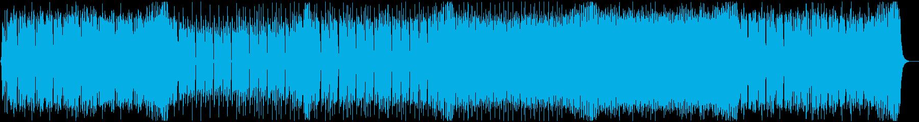 夏にテンション上がるEDM 声無しの再生済みの波形