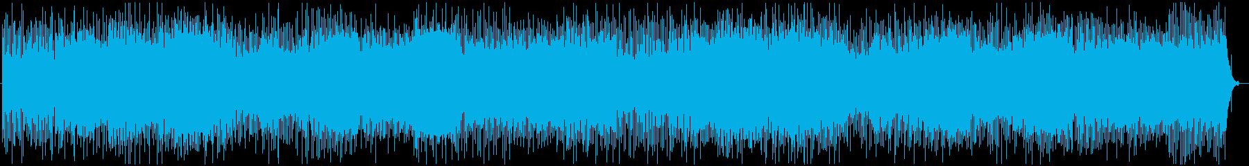 パッドとバブリングシンセを備えたク...の再生済みの波形