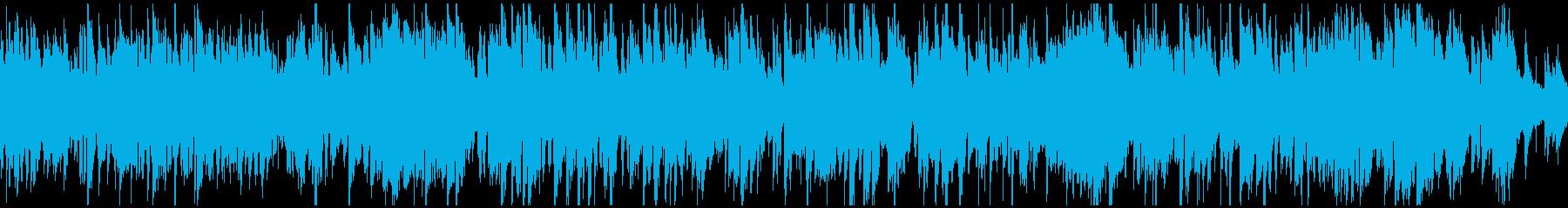 爽快エキサイティングなジャズ ※ループ版の再生済みの波形