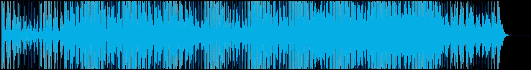 前向きで疾走感のある清々しいテクノの再生済みの波形