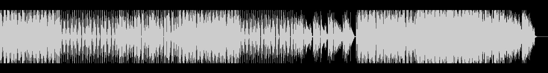 【メロディー無し】スペーシーファンクの未再生の波形