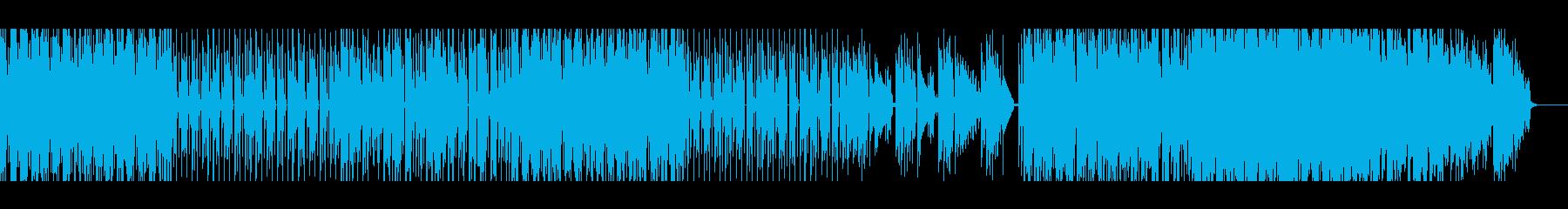 【メロディー無し】スペーシーファンクの再生済みの波形