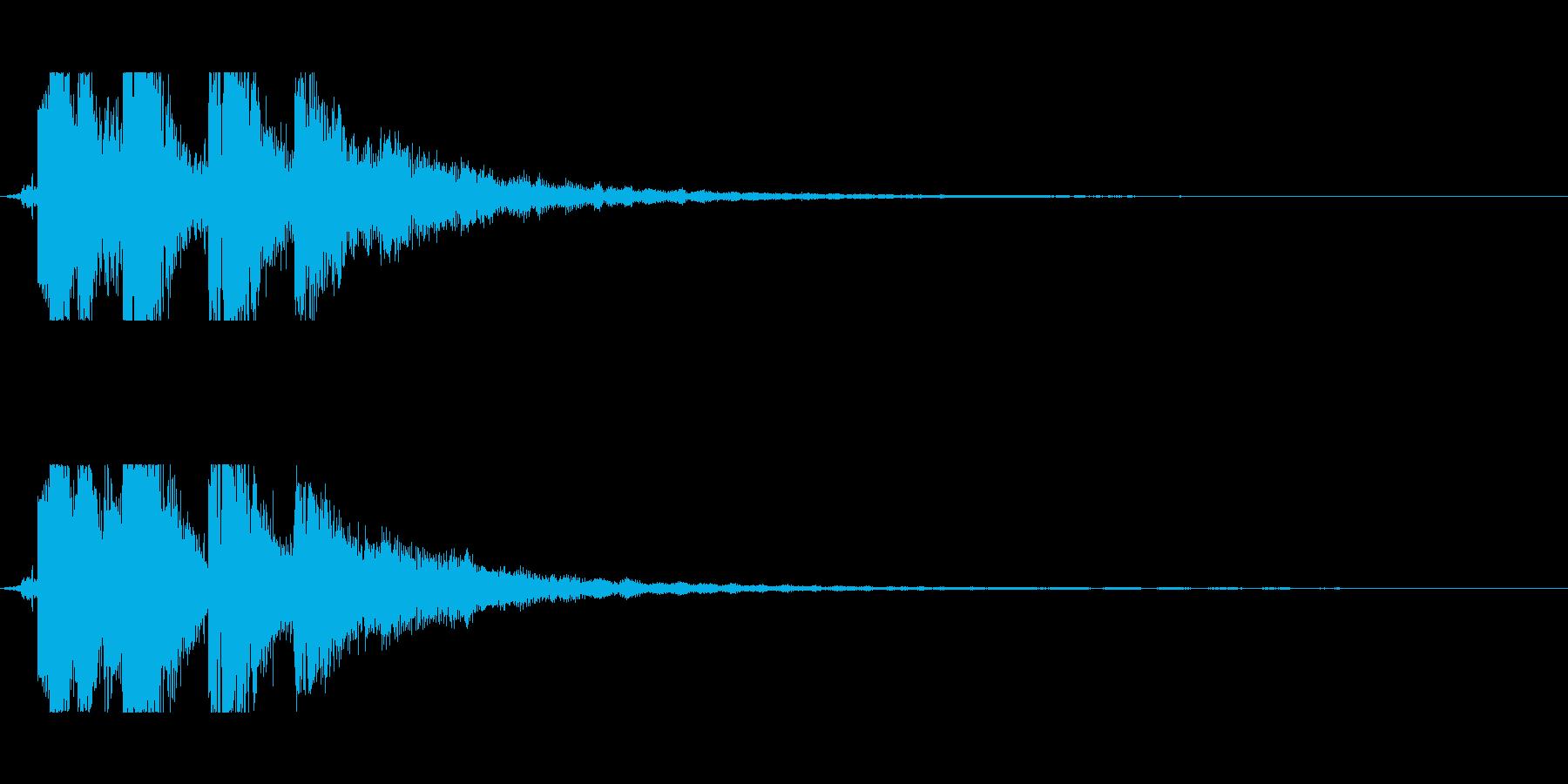 SF感のあるアイキャッチの再生済みの波形