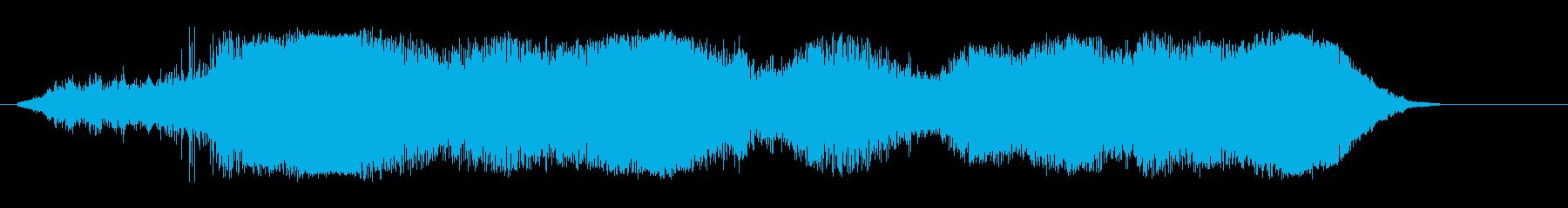 ナスカーレーシング;ターン別(数)...の再生済みの波形