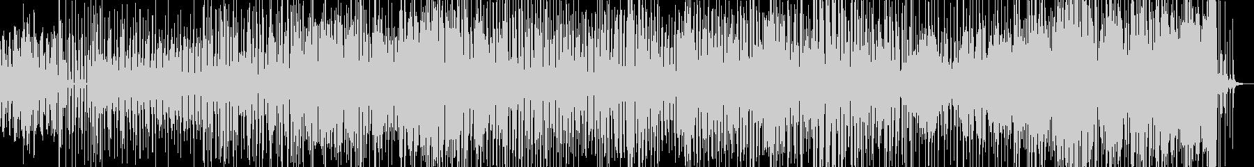 沖縄の三線と指笛等を入れたドラムンベースの未再生の波形