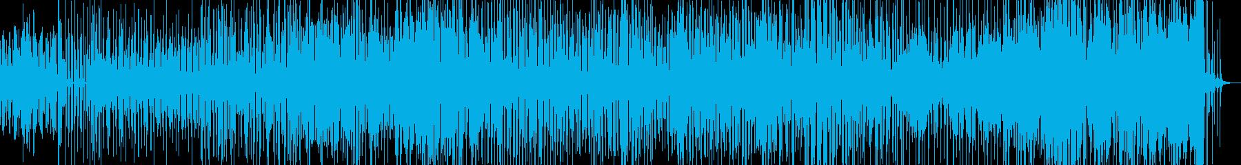 沖縄の三線と指笛等を入れたドラムンベースの再生済みの波形
