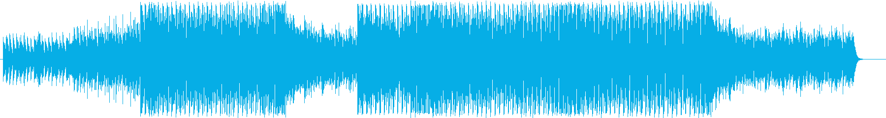 軽快でクールなEDM5の再生済みの波形