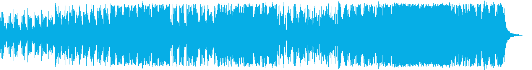 日没〜夜明けの荒野_和洋折衷曲の再生済みの波形
