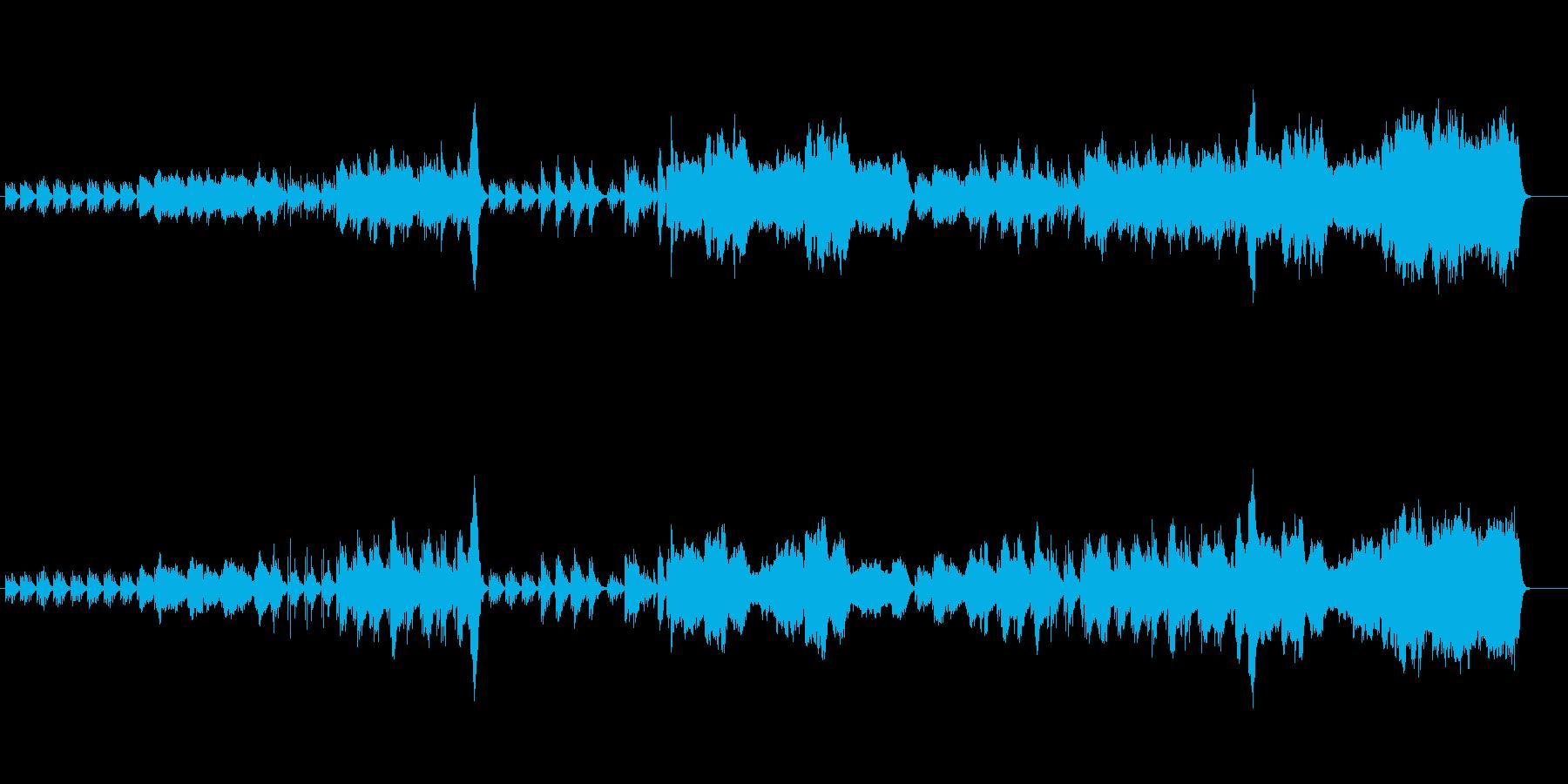 邦楽特選4将軍の再生済みの波形