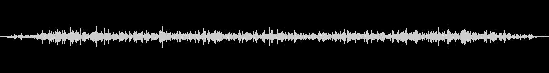 空気清浄機の音の未再生の波形