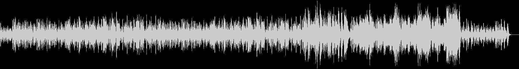 コミカルな管弦楽隊のBGMの未再生の波形