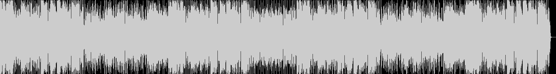 ほのぼのとした日常系の音楽の未再生の波形