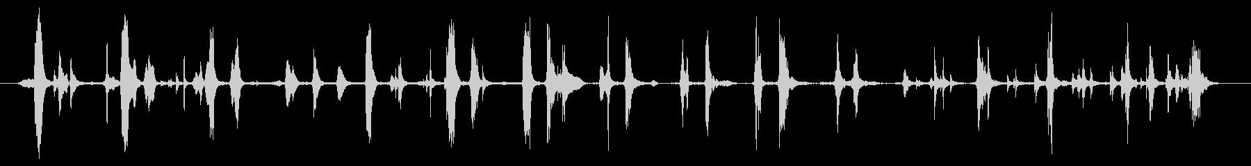 ラスティメタルホイールクランク:タ...の未再生の波形