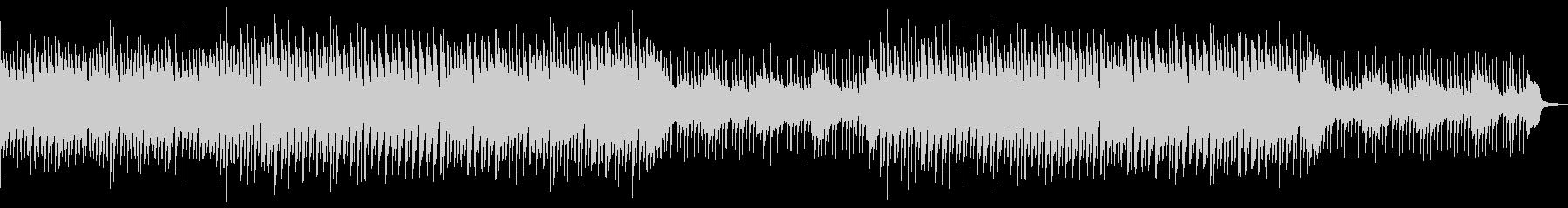 三味線と琴の和風でほのぼのしたBGMの未再生の波形