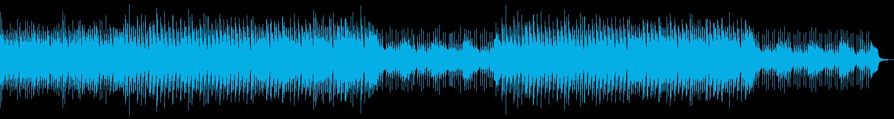三味線と琴の和風でほのぼのしたBGMの再生済みの波形